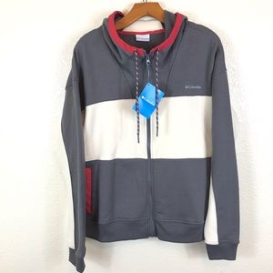 Columbia Lodge NWT full zip hoodie jacket